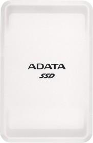 ADATA SC685 SSD weiß 500GB, USB-C 3.1 (ASC685-500GU32G2-CWH)