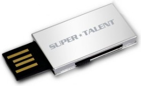 Super Talent Pico-B 2GB, USB-A 2.0 (STU2GPBS)