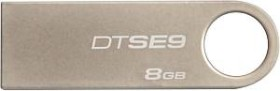 Kingston DataTraveler SE9 8GB, USB-A 2.0 (DTSE9H/8GB)