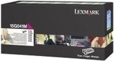 Lexmark Return Toner 15G041M magenta