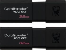 Kingston DataTraveler 100 G3 32GB, USB-A 3.0, 2er-Pack (DT100G3/32GB-2P)