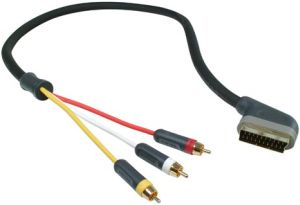 Belkin PureAV Blue Series SCART/composite audio & video cable 3.7m (AV21502ea12)