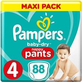 Pampers Baby-Dry pants Gr.4 Einwegwindel, 9-15kg, 32 Stück