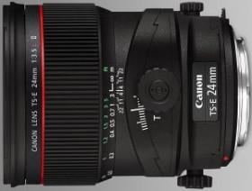 Canon TS-E 24mm 3.5 L II tilt/shift black (3552B005)