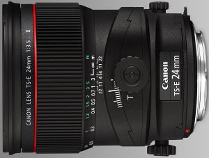 Canon lens TS-E 24mm 3.5 L II Tilt/Shift (3552B005)