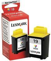 Lexmark 19 Printhead with ink coloured (15M2619) -- via Amazon Partnerprogramm
