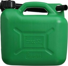 Silverline Fuel Canisters 5l green (847074)