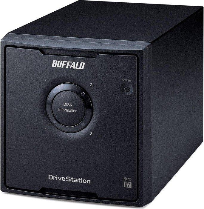 Buffalo Drivestation Quad 8000GB, USB 3.0 (HD-QL8TU3R5-EU)