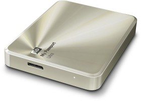 Western Digital WD My Passport Ultra Metal gold - Anniversary Edition - 3TB, USB 3.0 Micro-B (WDBEZW0030BCG)