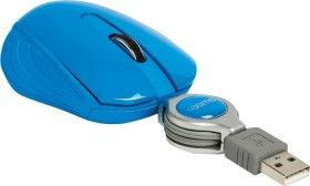 Sweex MI1080 Pocket Mouse Curacao blau, USB (NPMI1080-07)