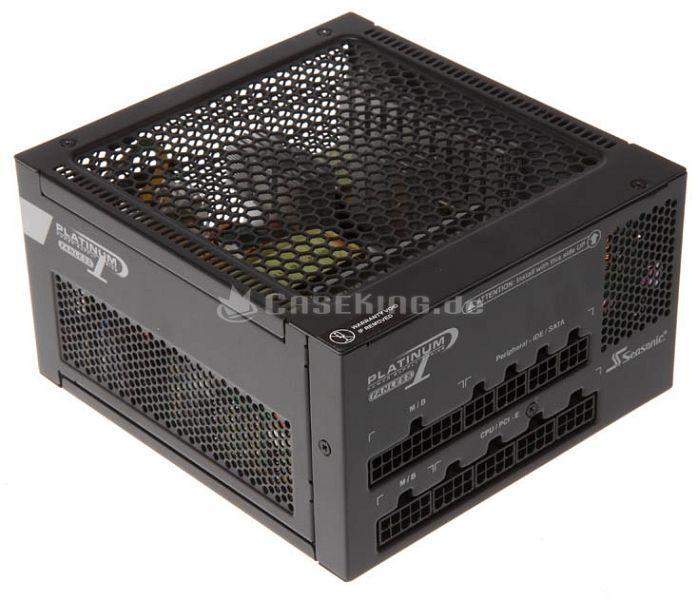 Seasonic Platinum Series Fanless 520W ATX 2.3 (SS-520FL2) -- © caseking.de