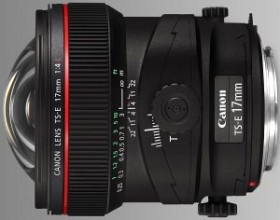 Canon TS-E 17mm 4.0 L Tilt/Shift schwarz (3553B005)