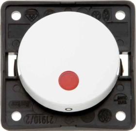 Berker Integro FLOW Kontroll-Ausschalter 2-polig, polarweiß glänzend (937522509)