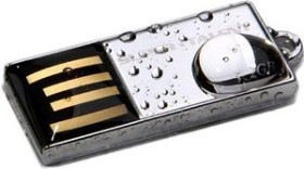 Super Talent Pico-C Chrom 8GB, USB-A 2.0 (STU8GPCS)