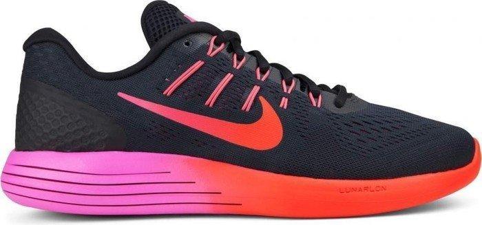 half off 89dbf 09c25 Nike Lunarglide 8 black noble red bright crimson (ladies) (843726-006)  starting from £ 72.91 (2019)   Skinflint Price Comparison UK