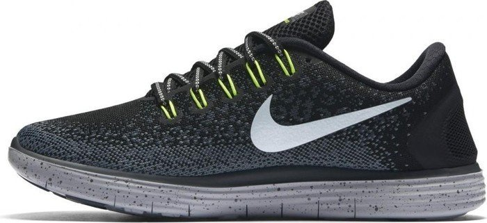 Nike Free RN Distance Shield blackdark greystealthmetallic silver (ladies) (849661 001) from £ 313.72