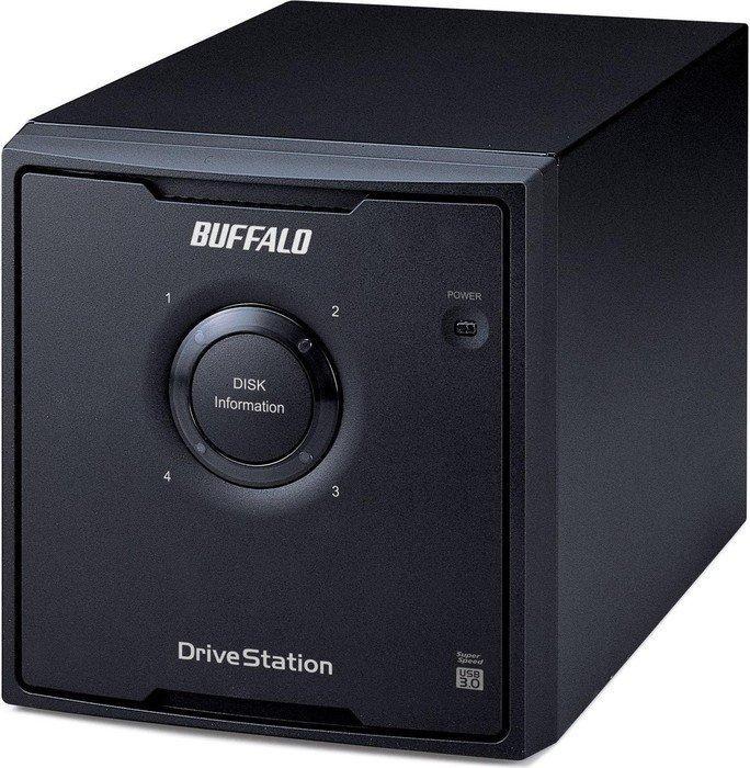 Buffalo Drivestation Quad 12TB (SATA 3Gb/s), USB-B 3.0 (HD-QL12TU3R5-EU)