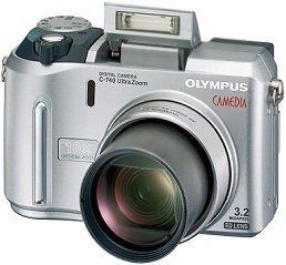 Olympus Camedia C-740 Ultra zoom (various Bundles)