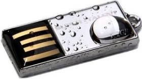Super Talent Pico-C Chrom 4GB, USB-A 2.0 (STU4GPCS)