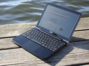 Samsung Chromebook, Atom N570, 16GB SSD, silver, UK (XE500C21-H01UK) -- ©notebookcheck.com