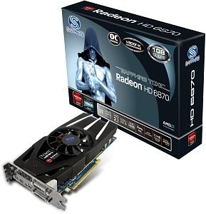 Sapphire Toxic Radeon HD 6870, 1GB GDDR5, 2x DVI, HDMI, 2x mini DisplayPort, full retail (11179-05-40G)