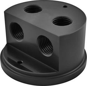 Singularity Computers Protium Quad Port Cap, Acetal, Deckel für Ausgleichsbehälter (RTAB-000-60)