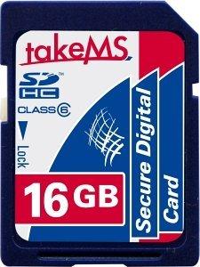 takeMS SDHC 16GB, Class 6 (MS16GSDC-HC6R)