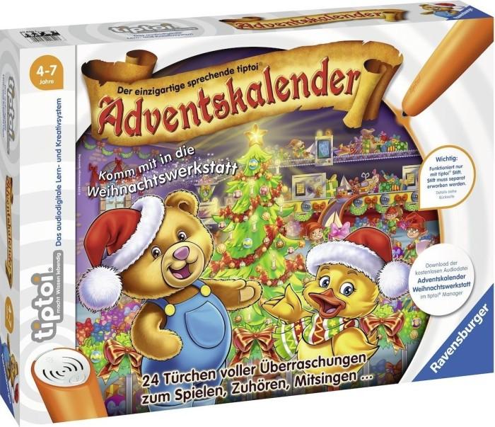 Weihnachtskalender Tiptoi.Ravensburger Tiptoi Spiel Adventskalender Weihnachtswerkstatt 00840
