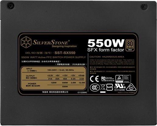 SilverStone SFX Series SX550 550W SFX12V (SST-SX550/30279)