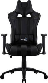 AeroCool AC120 AIR Gamingstuhl, schwarz (AC120AIR-B)