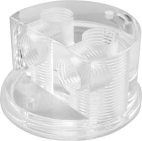 Singularity Computers Protium Quad Port Cap, Polished Acryl, Deckel für Ausgleichsbehälter (RTAC-000-60)