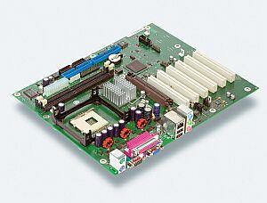 Fujitsu D1387-A, i845G, LAN, VGA (DDR)