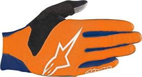 Alpinestars Aero cycling gloves blue/orange