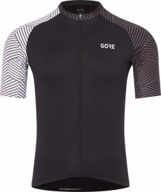 Gore Wear C5 Optiline Trikot kurzarm schwarz/weiß (Herren) (100164-9901)