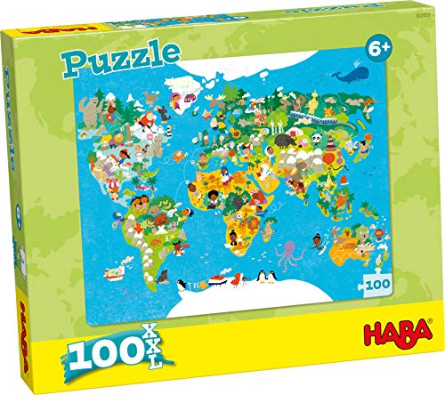 Haba puzzle world map 302003 skinflint price comparison uk via amazon partnerprogramm gumiabroncs Images