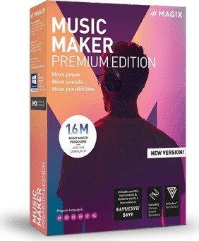 Magix Music Maker 2019 Premium, ESD (German) (PC)