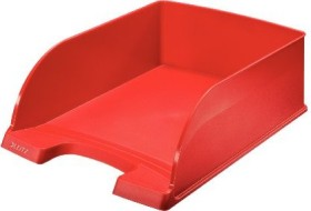 Leitz Plus Briefkorb Jumbo A4, rot (52330025)