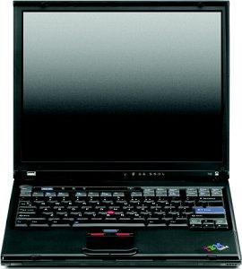 Lenovo Thinkpad T40p, Pentium-M 1.50GHz