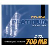 BestMedia Platinum CD-RW 80min/700MB, 25-pack