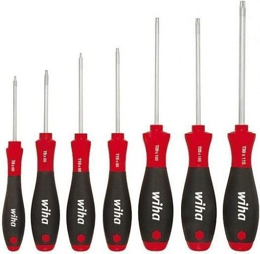 Wiha SoftFinish 362 K7 Torx screwdriver set, 7-piece. (01299)