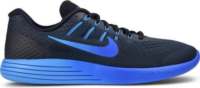 Nike Lunarglide 8 black/deep royal blue/hyper cobalt (Herren ...