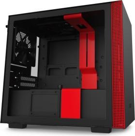 NZXT H210 schwarz/rot, Glasfenster, Mini-ITX (CA-H210B-BR)