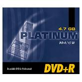 BestMedia Platinum DVD+R 4.7GB 8x, Jewelcase 1 sztuka