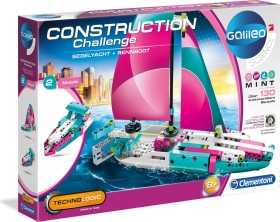 Clementoni Galileo Construction Challenge - Segelyacht + Rennboot (59163)