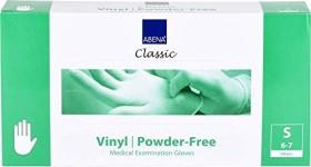 Abena vinyl Disposable Gloves S transparent, 100 pieces