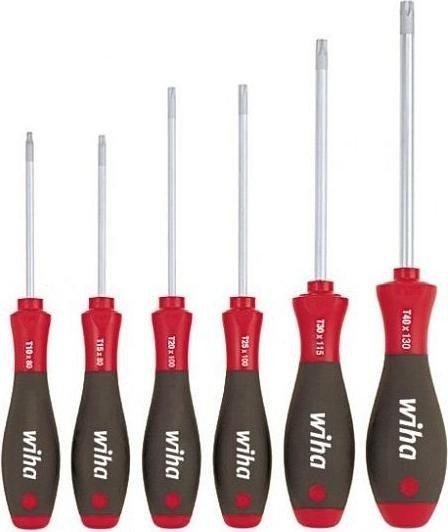 Wiha SoftFinish 362 K6 SO Torx screwdriver set, 6-piece. (07155)
