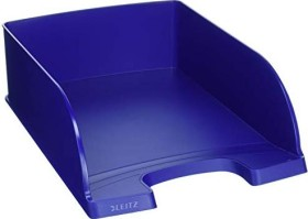 Leitz Plus Briefkorb Jumbo A4, blau (52330035)