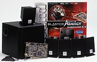Creative Audigy surround 5.1 (Audigy player + Inspire 5300 Bundle)
