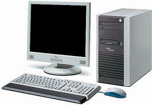 Fujitsu Scenic P320, Athlon 64 2800+ -- Produkt kommt ohne Monitor