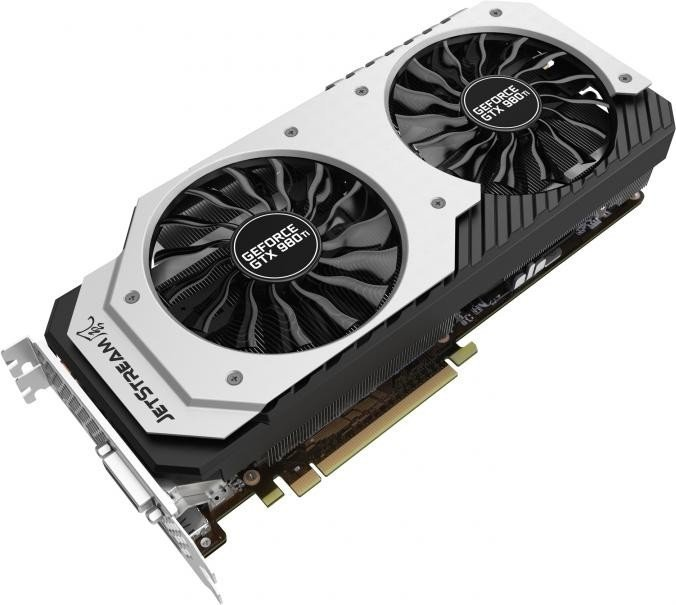 Palit GeForce GTX 980 Ti Super Jetstream, 6GB GDDR5, DVI, HDMI, 3x DisplayPort (NE5X98TH15JBJ)